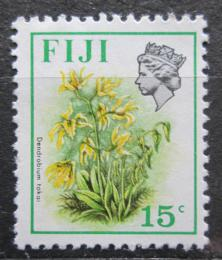 Poštovní známka Fidži 1972 Dendrobium tokai Mi# 284 X