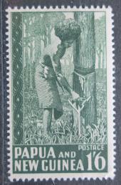 Poštovní známka Papua Nová Guinea 1952 Sbìr kauèuku Mi# 16 Kat 12€