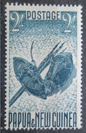 Poštovní známka Papua Nová Guinea 1952 Masky Mi# 18 Kat 12€