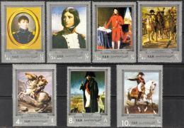 Poštovní známky Jemen 1969 Napoleon I. Bonaparte Mi# 961-67 Kat 15€