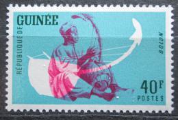 Poštovní známka Guinea 1962 Hudební nástroj - Bolon Mi# 122