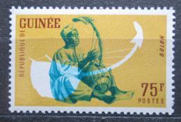 Poštovní známka Guinea 1962 Hudební nástroj - Bolon Mi# 124 Kat 3.60€