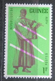 Poštovní známka Guinea 1962 Hudební nástroj - Flétna Mi# 115