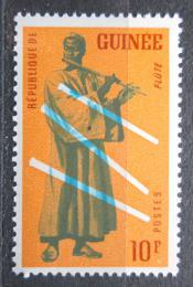 Poštovní známka Guinea 1962 Hudební nástroj - Flétna Mi# 119