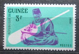 Poštovní známka Guinea 1962 Hudební nástroj - Koni Mi# 118