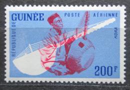 Poštovní známka Guinea 1962 Hudební nástroj - Kora Mi# 126 Kat 3.50€