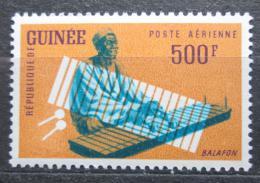 Poštovní známka Guinea 1962 Hudební nástroj - Balafong Mi# 127 Kat 9€