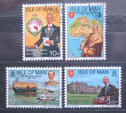 Poštovní známky Ostrov Man 1975 Sir George Goldie Mi# 64-67