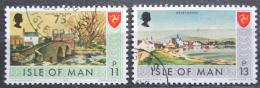 Poštovní známky Ostrov Man 1975 Turistické zajímavosti Mi# 72-73
