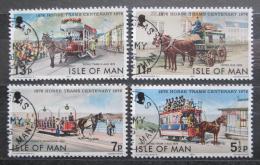 Poštovní známky Ostrov Man 1976 Koòská spøežení Mi# 78-81