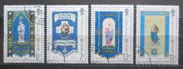 Poštovní známky Ostrov Man 1976 Vánoce Mi# 88-91