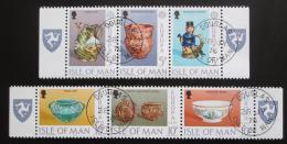 Poštovní známky Ostrov Man 1976 Evropa CEPT, lidové umìní Mi# 82-87