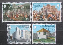 Poštovní známky Ostrov Man 1977 John Wesley Mi# 101-04