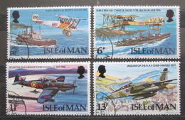 Poštovní známky Ostrov Man 1978 RAF, 60. výroèí Mi# 118-21