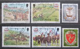 Poštovní známky Ostrov Man 1979 Parlament v Tynwaldu, 1000. výroèí Mi# 144-49