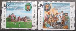Poštovní známky Ostrov Man 1980 Evropa CEPT Mi# 164-65