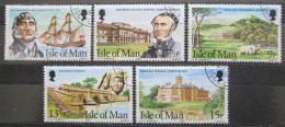 Poštovní známky Ostrov Man 1980 Rodina Kermode v Tasmánii Mi# 173-77