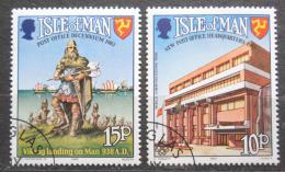 Poštovní známky Ostrov Man 1983 Svìtový rok komunikace Mi# 246-47