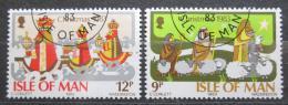 Poštovní známky Ostrov Man 1983 Vánoce Mi# 248-49