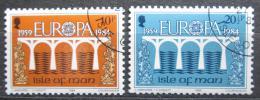 Poštovní známky Ostrov Man 1984 Evropa CEPT, most Mi# 261-62
