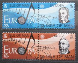 Poštovní známky Ostrov Man 1985 Evropa CEPT, rok hudby Mi# 278-81