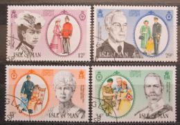 Poštovní známky Ostrov Man 1985 Osobnosti Mi# 288-91