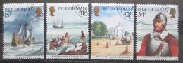 Poštovní známky Ostrov Man 1986 Historické spojení s Amerikou Mi# 313-16 5.50€