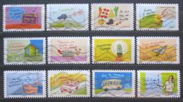 Poštovní známky Francie 2014 Ochrana životního prostøedí Mi# 5804-15 Kat 16.80€