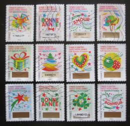 Poštovní známky Francie 2016 Vánoce a Nový rok Mi# 6623-34 Kat 19€