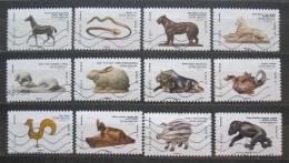 Poštovní známky Francie 2013 Zvíøata z èínského kalendáøe Mi# 5481-92 Kat 14€
