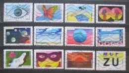 Poštovní známky Francie 2015 Pìt smyslù, oèi Mi# 6263-74 Kat 18€