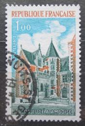 Poštovní známka Francie 1973 Zámek Clos-Lucé v Amboise Mi# 1842
