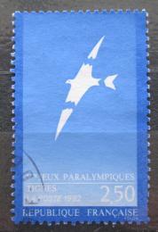 Poštovní známka Francie 1991 Zimní paralympiáda Mi# 2869