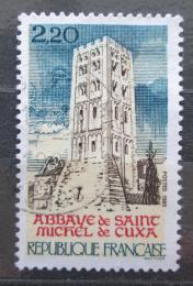 Poštovní známka Francie 1985 Opatství Saint-Michel-de-Cuxa Mi# 2508