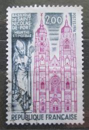 Poštovní známka Francie 1974 Bazilika St. Nicolas de Port Mi# 1891
