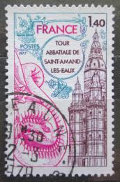 Poštovní známka Francie 1977 Kostel Saint-Amand-les-Eaux Mi# 2045