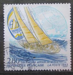 Poštovní známka Francie 1993 Jachting Mi# 2937