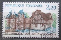 Poštovní známka Francie 1986 Zámek Saint-Germain-de-Livet Mi# 2538