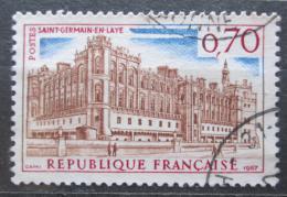 Poštovní známka Francie 1967 Zámek Saint-Germain-en-Laye u Paøíže Mi# 1587