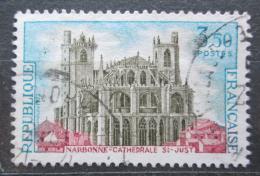 Poštovní známka Francie 1972 Katedrála v Narbonne Mi# 1786