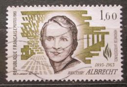 Poštovní známka Francie 1983 Berthie Albrecht Mi# 2417