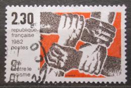 Poštovní známka Francie 1982 Boj proti rasismu Mi# 2326