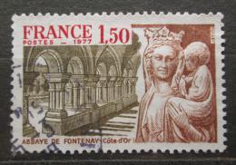 Poštovní známka Francie 1977 Opatství Fontenay Mi# 2034