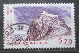 Poštovní známka Francie 1984 Pevnost Montségur Mi# 2461