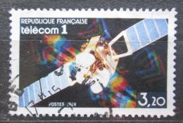 Poštovní známka Francie 1984 Satelit Telecom 1 Mi# 2459