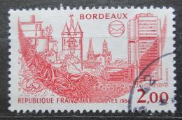 Poštovní známka Francie 1984 Bordeaux Mi# 2449