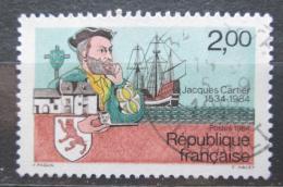 Poštovní známka Francie 1984 Jacques Cartier Mi# 2439