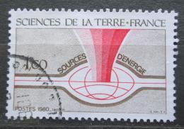 Poštovní známka Francie 1980 Prùzkum nových energetických zdrojù Mi# 2213