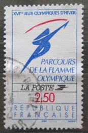Poštovní známka Francie 1991 ZOH Albertville Mi# 2866