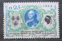Poštovní známka Francie 1968 Pøipojení Korsiky Mi# 1637